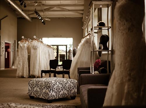 evas bridal center main floor