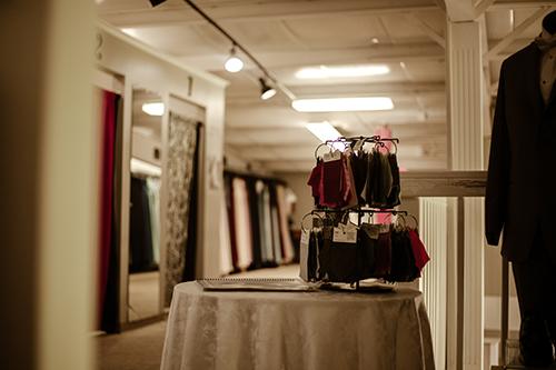 evas bridal center back room