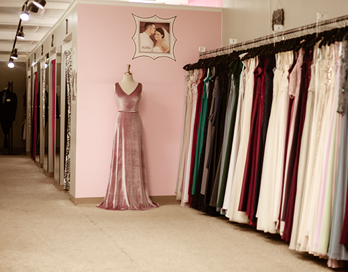 evas bridal center dresses