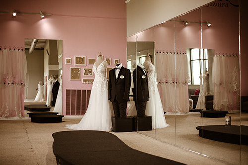 evas bridal center brand and groom